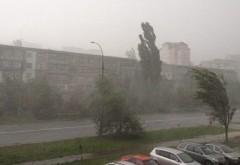 Ciclon peste România de 1 mai. ANM: Ploi, descărcări electrice, grindină şi chiar ninsori şi lapoviţă la munte