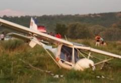 Un avion s-a prăbușit pe aerodromul Strejnicu