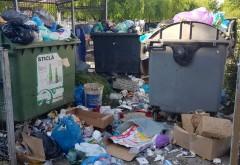 De ce lasă ploieștenii gunoiul lângă rampe? Pentru că sunt pline!! Rosal doarme în weekend?!