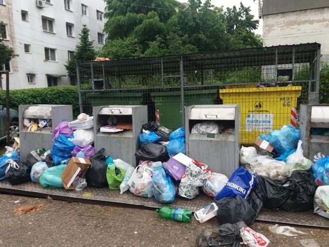 E haos în Ploiești! Munți de gunoaie la rampe!