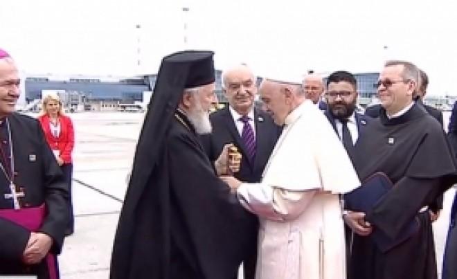 VIDEO Papa Francisc a făcut un gest IMPRESIONANT pentru Biserica Ortodoxă Română: ÎPS Nifon a rămas surprins