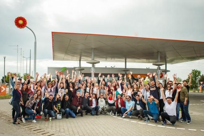 Rafinăria Petromidia și-a deschis porțile pentru circa 100 de studenți din București, Ploiești și Constanța