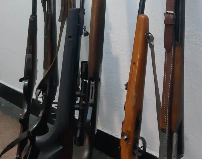 Cinci dosare penale în urma unui control la deținătorii de arme din Prahova
