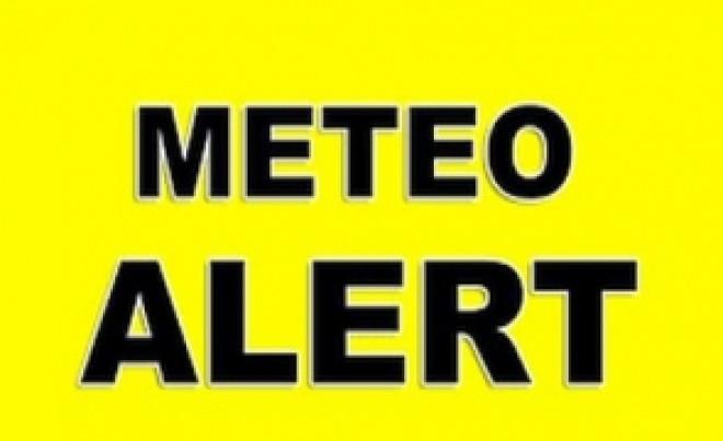 Avertizare nowcasting: ANM a anunțat COD GALBEN de ploi în 5 județe