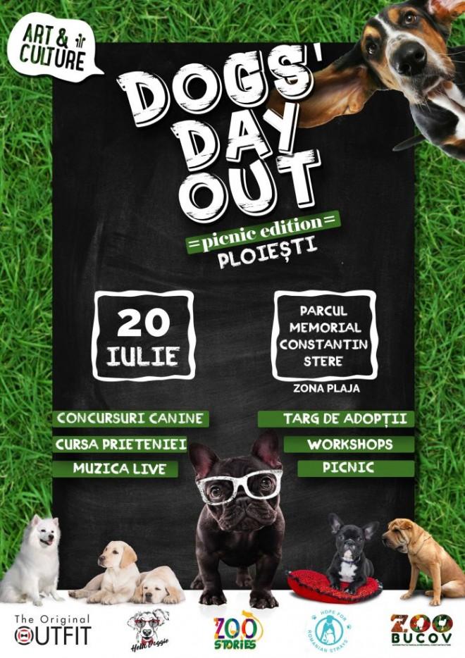 """""""Dogs day out"""" la Parcul Bucov! Ce au pregătit organizatorii"""