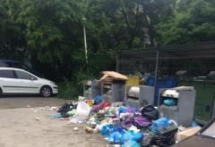 In cartierul Malu Rosu, oamenii nu mai pot respira din cauza gunoaielor