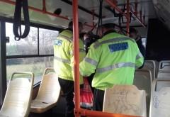 Politistii ploiesteni, in control in autobuze! Vezi aici cate amenzi au aplicat