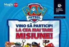 Eroii Paw Patrol vin la Ploiești Shopping City
