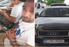 O prahoveancă a încercat să îşi scoată ilegal copilul din ţară ascunzandu-l sub fusta