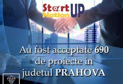690 de proiecte din Prahova, acceptate in programul Start Up Nation