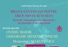Întâlnire de excepție cu titanii terapiilor naturale: Ovidiu Bojor si Gheorghe Mencinicopschi vin la Ploiesti