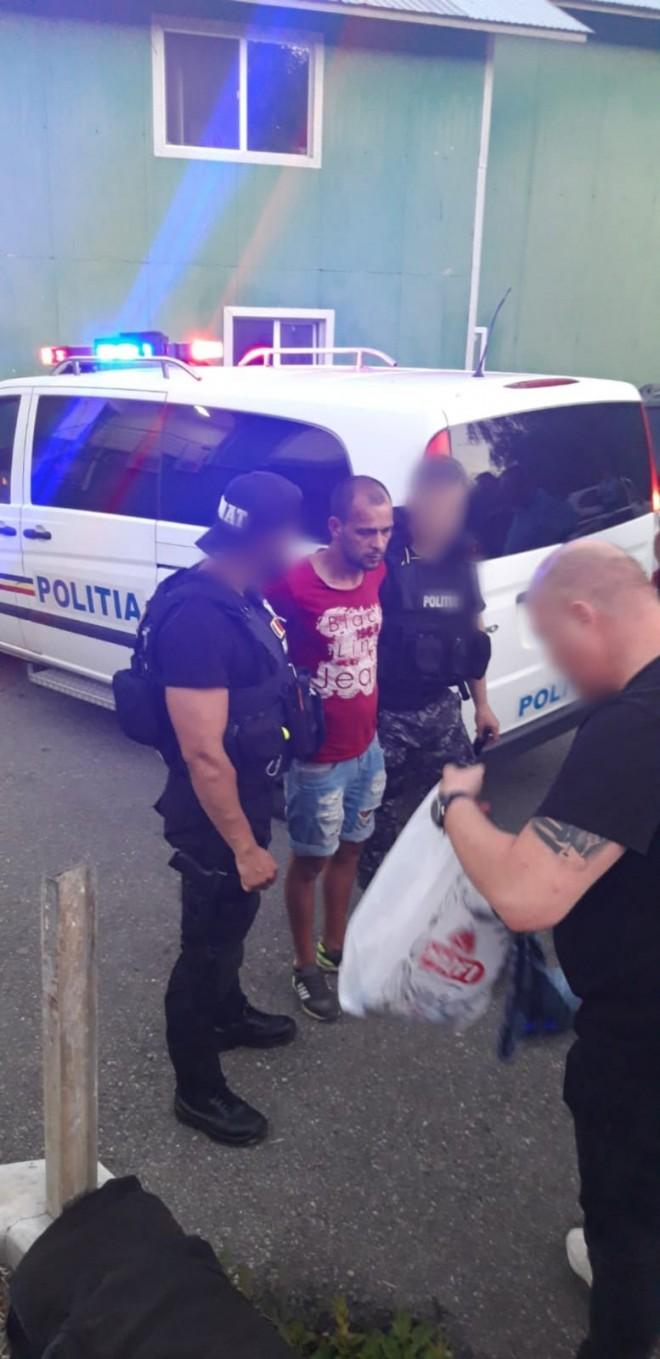 Deţinutul de la Penitenciarul Ploieşti care a evadat de la un punct de lucru a fost prins