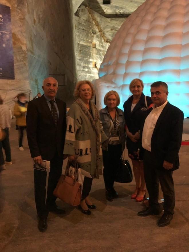 Cosmonautul Dumitru Prunariu, prezent la inaugurarea celui mai mare planetariu din Romania, la Slanic