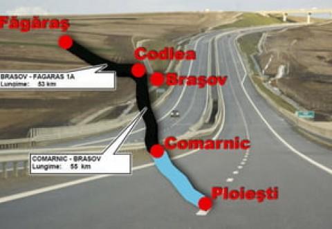 Autostrada Comarnic-Braşov nu se va construi în parteneriat public-privat