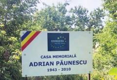 Proiect Consiliul Judetean Prahova si Consiliul Euroregiunii Siret-Prut-Nistru: Casa în care s-a născut poetul Adrian Păunescu, reabilitată şi introdusă în circuitul turistic si muzeal