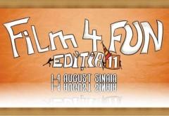 La Sinaia, patru zile de festival de film cu intrare liberă