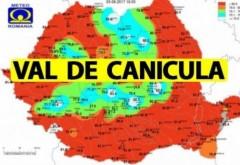 Val de CANICULĂ ÎN ROMÂNIA. Cum va fi vremea în următoarele zile