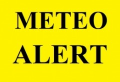 ANM anunță PRĂPĂD - Cod PORTOCALIU de furtuni, ploi torențiale și grindină pentru cinci județe