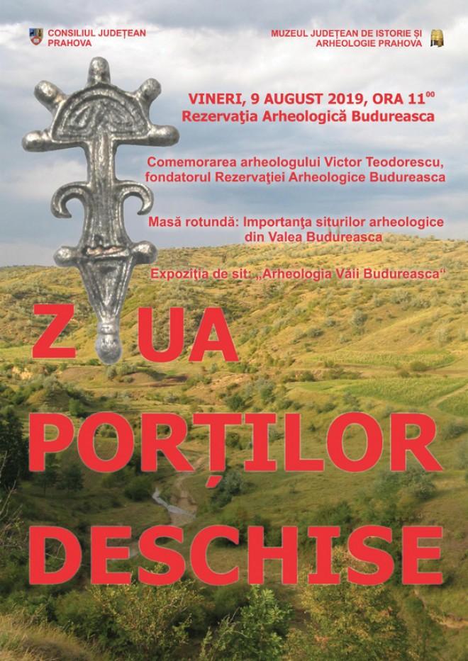 La Rezervaţia Arheologică Budureasca – Ziua porţilor deschise