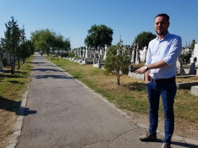 Cimitirul Mihai Bravu din Ploieşti, igienizat