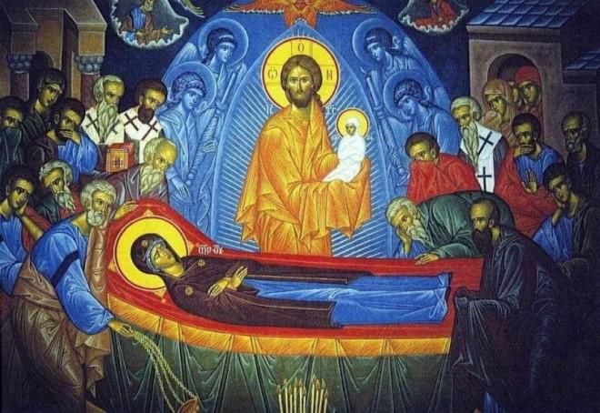"""Sfanta Maria 15 august - se spune sau nu """"La mulți ani"""" astăzi de Adormirea Maicii Domnului"""