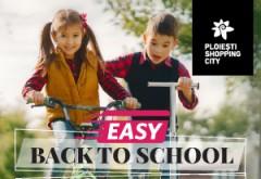 Dacă școala e complicată, atunci mersul până acolo să fie simplu și distractiv cu Ploiești Shopping City! Cumperi de minimum 250 de lei din oricare magazin al Ploiești Shopping City și câștigi