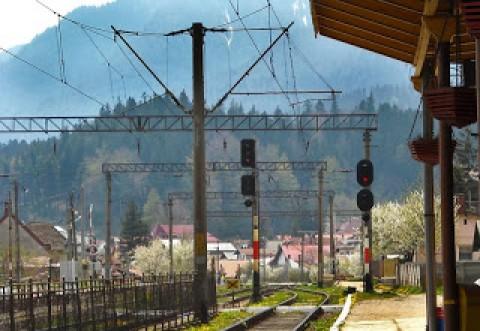 Femeie lovita de tren in apropierea garii Busteni
