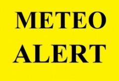 Avertismentul meteorologilor - Cod GALBEN de ploi torențiale și furtuni. Județele vizate