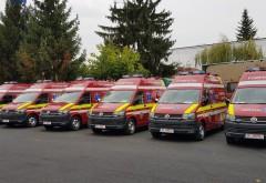O veste buna pentru prahoveni: 7 ambulante NOI au fost receptionate de ISU Prahova