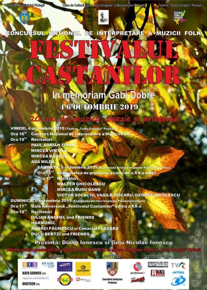 Festivalul Castanilor, la Ploiesti. Modificari de locatie din cauza vremii nefavorabile