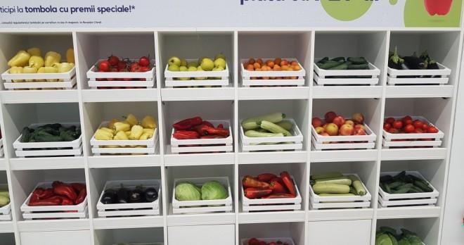 Carrefour ofera fructe si legume in schimbul PET-urilor, in 5 orase. Vezi unde