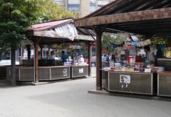Primaria Ploiesti scoate la licitatie tarabele din centru ale buchiniștilor. Standurile vor fi înlocuite cu terase și cafenele