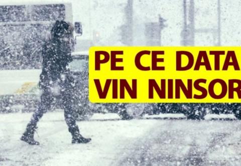 E oficial! Pe ce dată va începe să ningă în toată România, inclusiv în Ploiesti