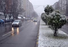 Informare meteo până sâmbătă dimineață. În Prahova sunt așteptate lapoviță și ninsori