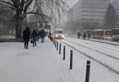 ALERTA/ Va ninge in Ploiesti, vineri seara