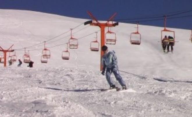 O nouă pârtie de schi se deschide în România
