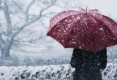 Vine FRONTUL POLAR: Vremea se va răci în următoarele trei zile şi va ninge