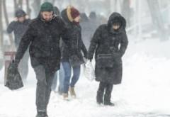 ALERTĂ METEO, începe infernul alb - Cod PORTOCALIU de viscol în Prahova si alte 6 județe