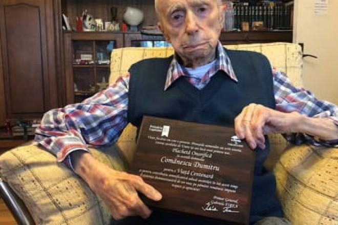 Un prahovean, al treilea cel mai longeviv bărbat din lume. Vezi aici cati ani are