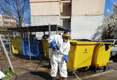 A.D.I Deseuri Prahova actioneaza prin ROSAL pentru dezinfectarea vehiculelor si platformelor de colectare a deseurilor