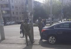 Supraveghere militarizata in Ploiesti. Piata din Malu Rosu, pazita cu angajati ai armatei, inarmati