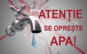Anunt Hidro Prahova: Se opreste apa potabila in satul Valea Scheilor
