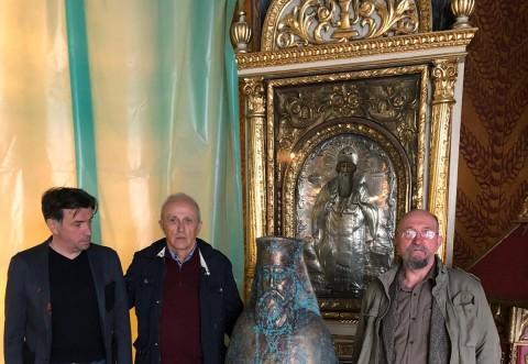 La initiativa SMV, Catedrala Eroilor din Ploiesti a primit pentru sfintire bustul patriarhului Miron Cristea