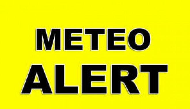 AVERTIZATE METEO: Cod galben de precipitații în aproape toata tara