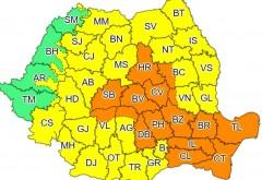 ATENTIE! Cod PORTOCALIU de furtuni violente in Prahova