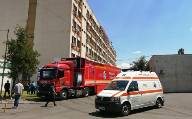Se extinde focarul de COVID-19 de la Spitalul Judeţean Ploieşti! 11 infectări confirmate