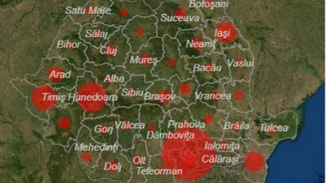 Record absolut de infectări în România. Este cel mai mare bilanț de la începutul pandemiei
