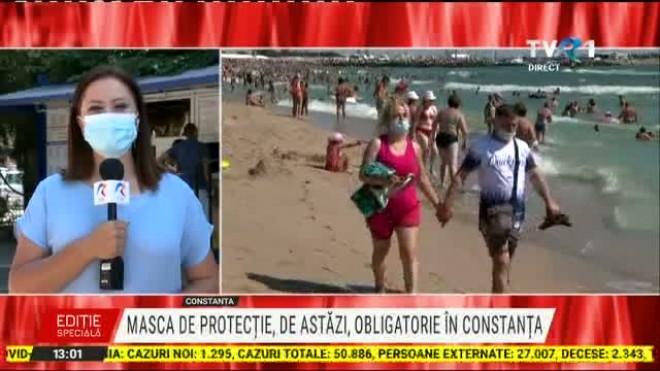 Zonele unde masca de protecție este obligatorie pe litoral!