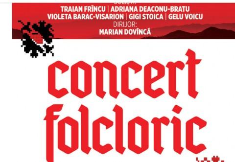 """Orchestra Populară """"Flacăra Prahovei"""", concert folcloric în Ploieşti"""