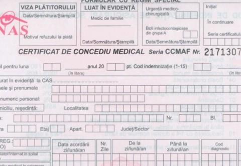 Cine trebuie să elibereze concediile medicale pentru bolnavii Covid? Precizări din partea CAS Prahova